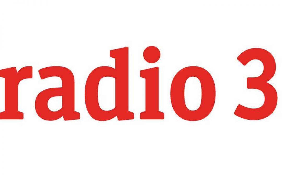 """""""APENAS"""" EN LA LIBÉLULA DE RADIO 3"""