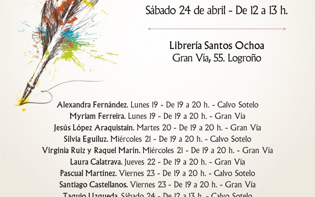 FIRMA DE «AISHA» EN SANTOS OCHOA LOGROÑO